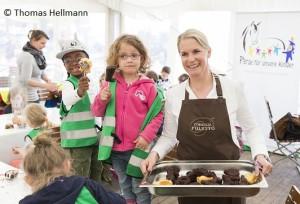 Kinder kochen mit Poletto - Pferde für unsere Kinder e.V. Hamburger Derby 2016 (2)