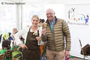 Kinder kochen mit Poletto - Pferde für unsere Kinder e.V. Hamburger Derby 2016 (1)