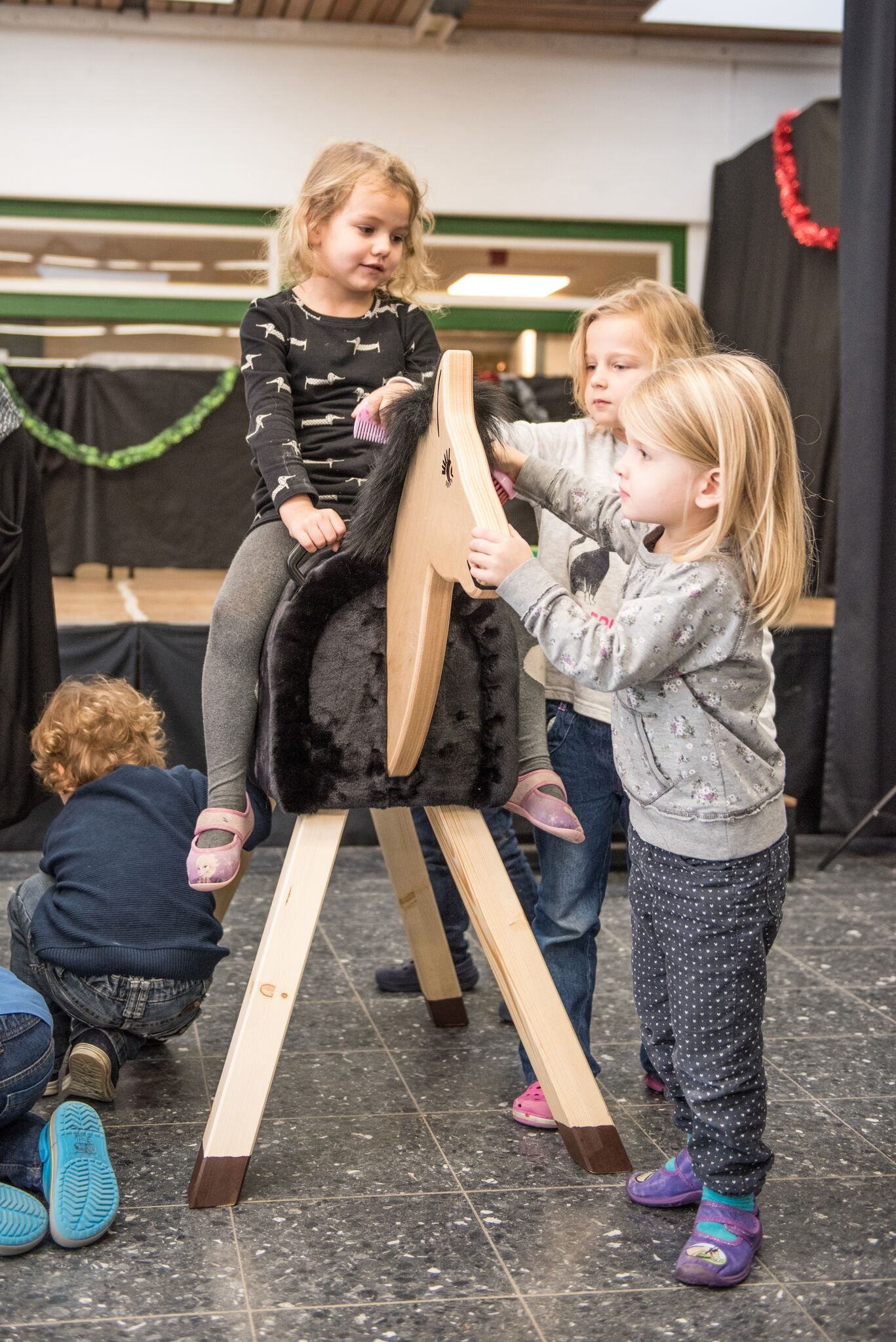 PfuKe.V. Vetoquinol Holzpferdeübergabe 2017 Juechen (2)