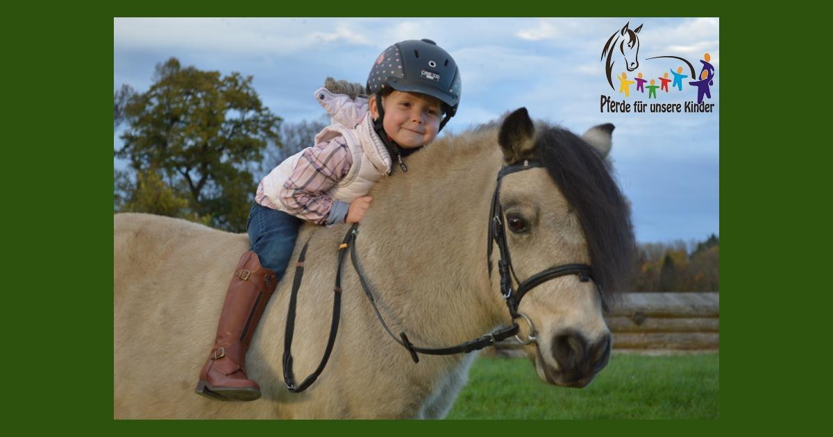 Pferde für unsere Kinder e.V. - Emma auf ihrem Pony