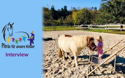 """""""Pferde für unsere Kinder e.V.""""-Interview mit Andrea Zender"""