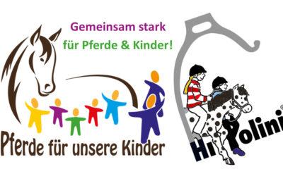 """""""Pferde für unsere Kinder e.V."""" und HIPPOLINI kooperieren gemeinsam für Kinder und Pferde"""