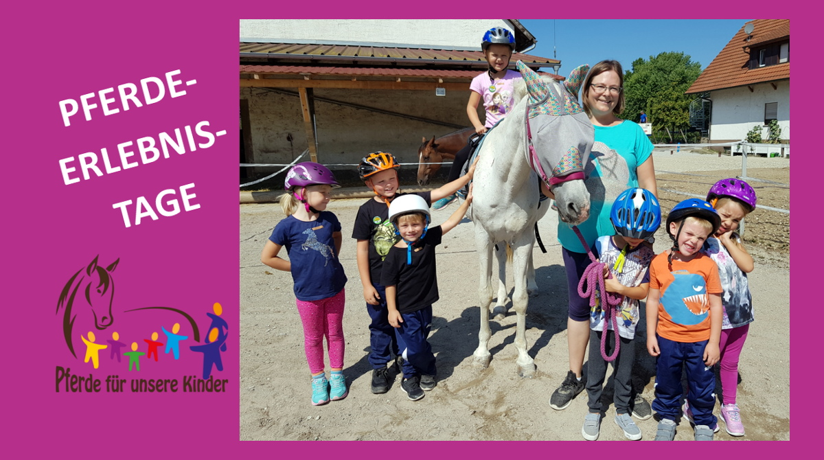 Pferdeerlebnistage Kessy's Pferdeclub - Pferde für unsere Kinder e.V. (I)