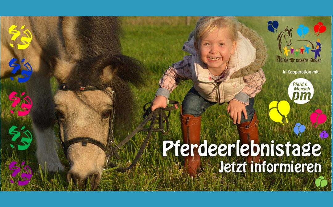 Ein Pferdeerlebnistag für die Kindertagesstätte Pusteblume