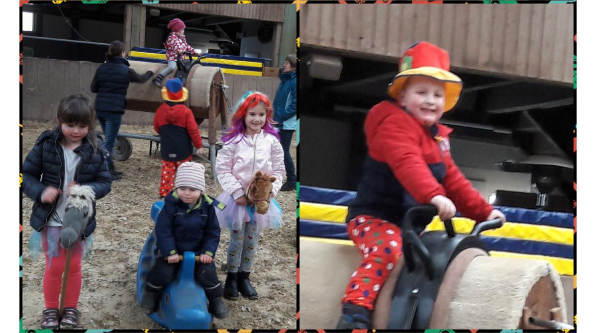 Pferdeerlebnistag Karneval Keller Tanja 2