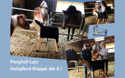 Ponyhof Lutz sammelt für Holzpferd Nr. 6