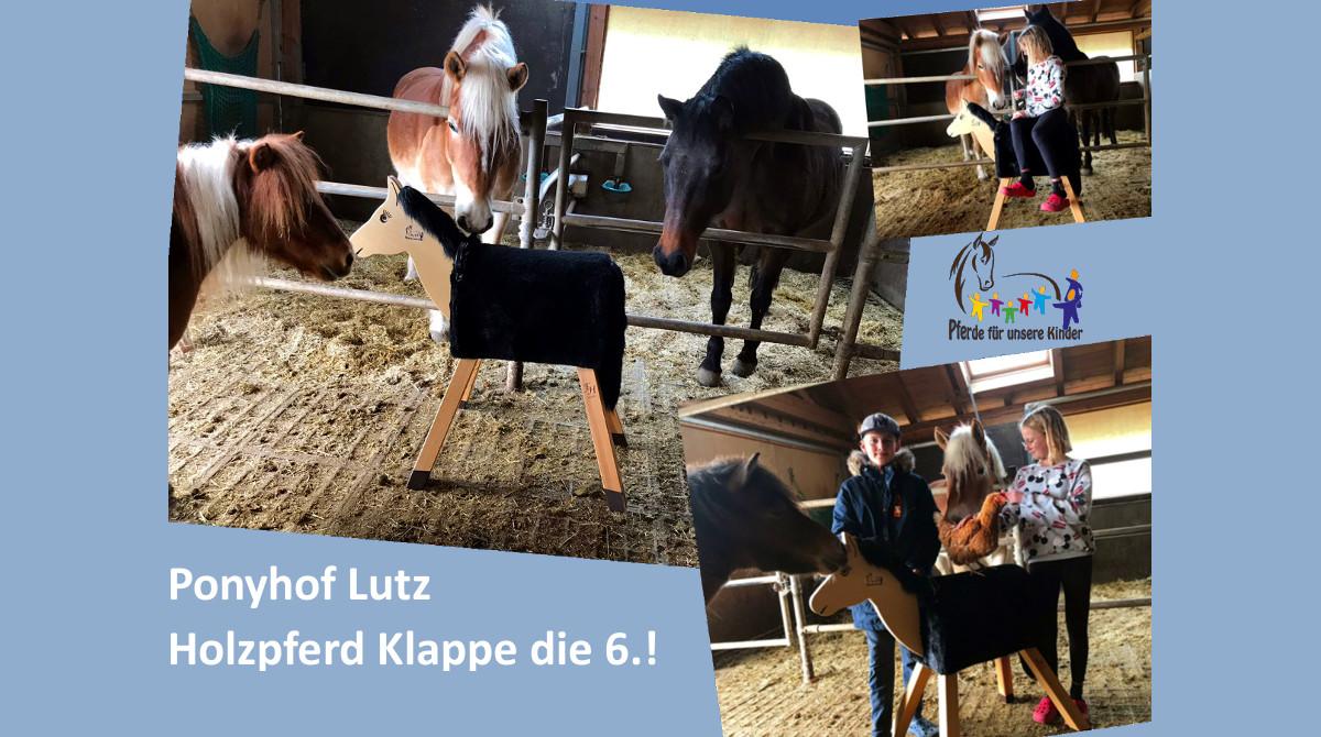 Ponyhof Lutz Holzpferdeübergabe 2019 – Facebook