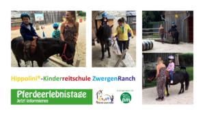 Pferde für unsere Kinder e.V.-Pferdeerlebnistage - Hippolini®-Kinderreitschule ZwergenRanch