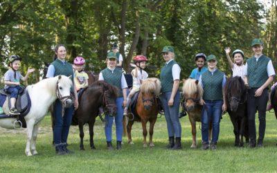 Sommer, Pferde – Kindertag im Hauptgestüt Graditz
