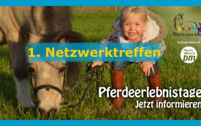 """1. """"Pferde für unsere Kinder e.V.""""-Netzwerktreffen 2019"""