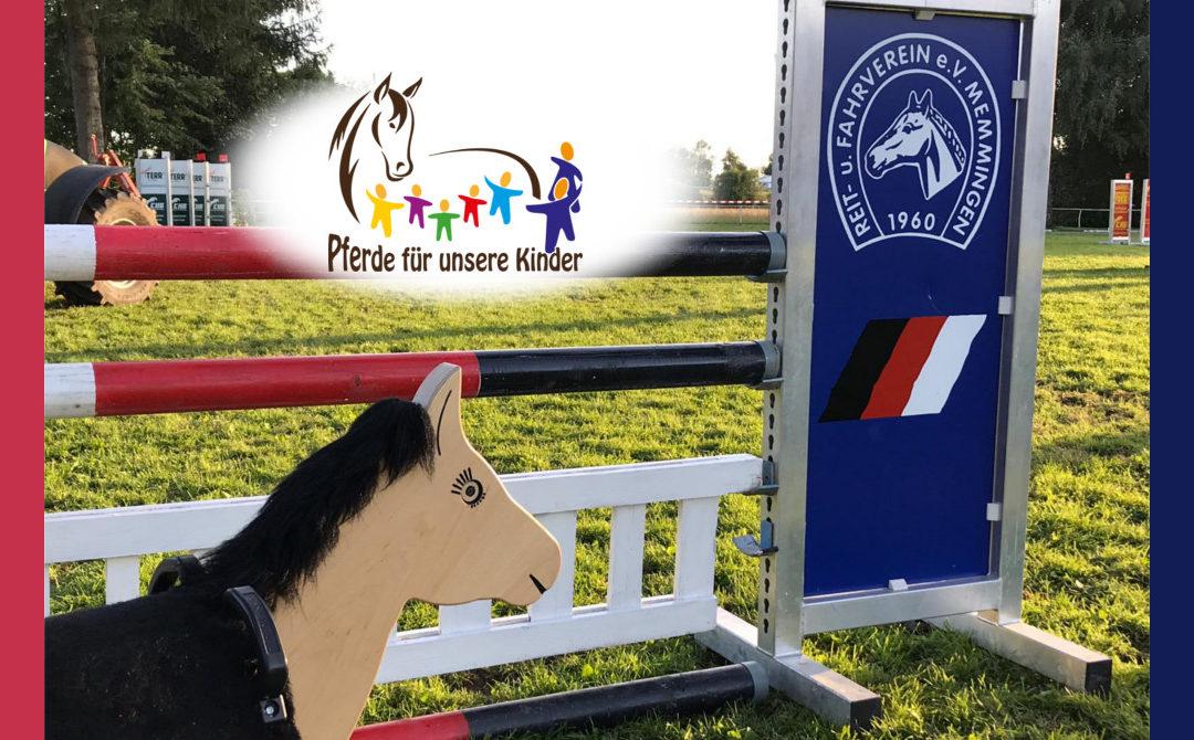 Ponyhof Lutz sammelt für das 7. Holzpferd