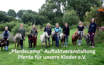 """""""Pferde für unsere Kinder e.V."""" startet """"Pferdecamp""""-Auftaktveranstaltung für Teamleiter in Schürsdorf"""