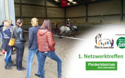 """Erstes """"Pferde für unsere Kinder e.V.""""-Netzwerktreffen erfolgreich"""