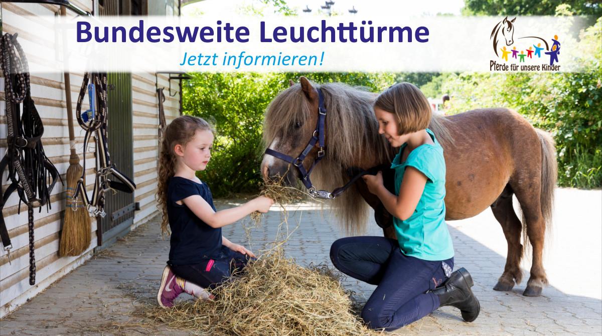 Bundesweite Leuchttürme - Pferde für unsere Kinder e.V. - c Thomas Hellmann