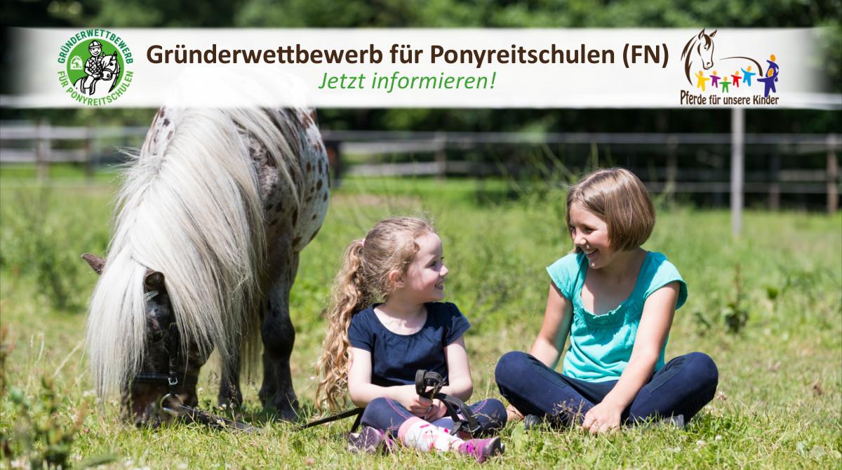 Gründerwettbewerb für Ponyreitschulen (FN) - Pferde für unsere Kinder e.V. - c Thomas Hellmann