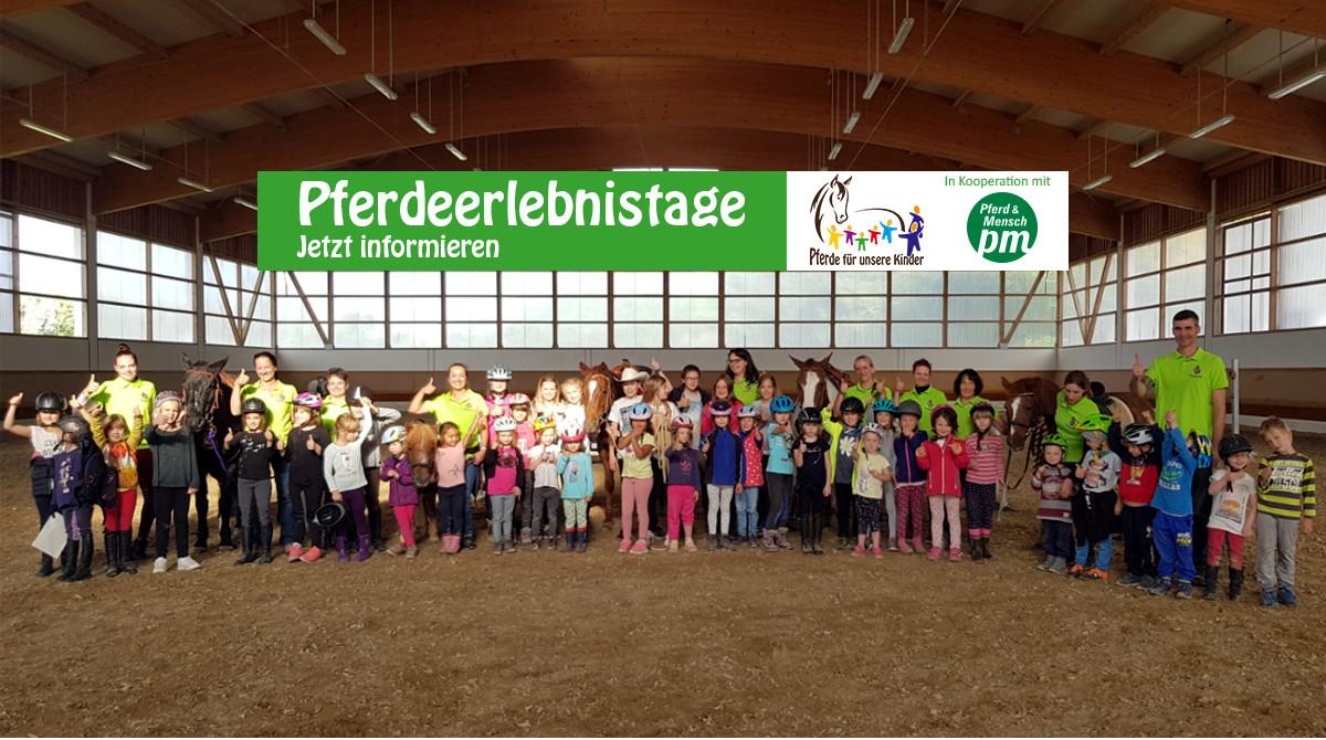 Pferde für unsere Kinder e.V. Pferdeerlebnistag - Hildegard Steiner Reitverein Thierhaupten (4)