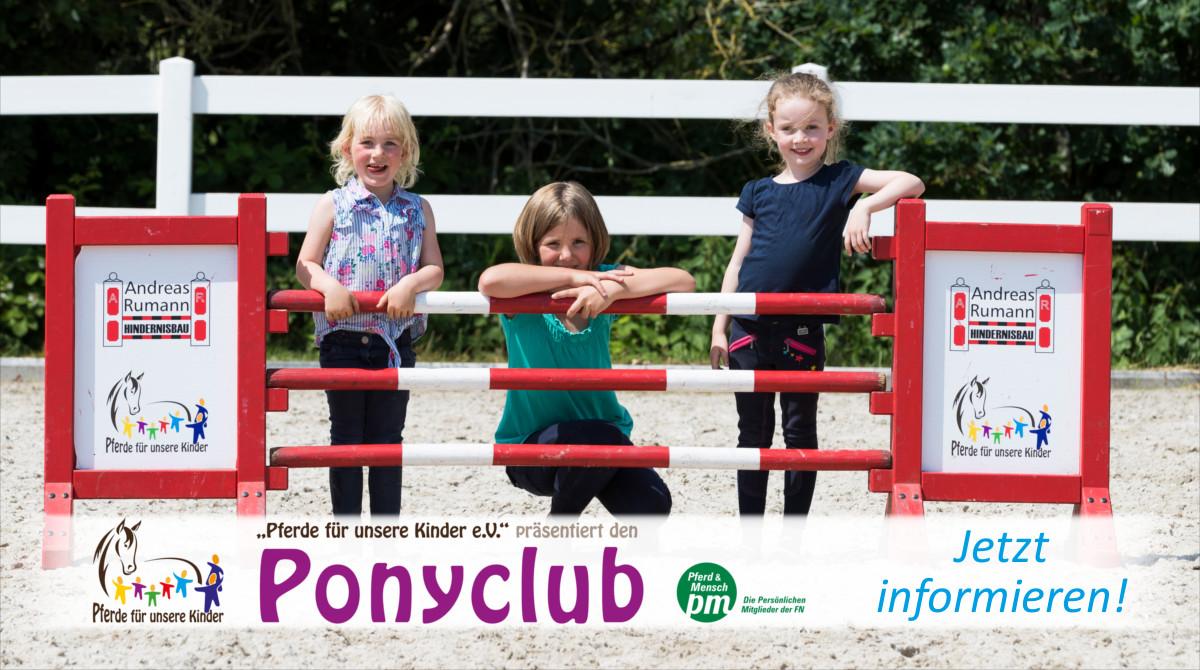 Ponyclub - Pferde für unsere Kinder e.V. - c Thomas Hellmann