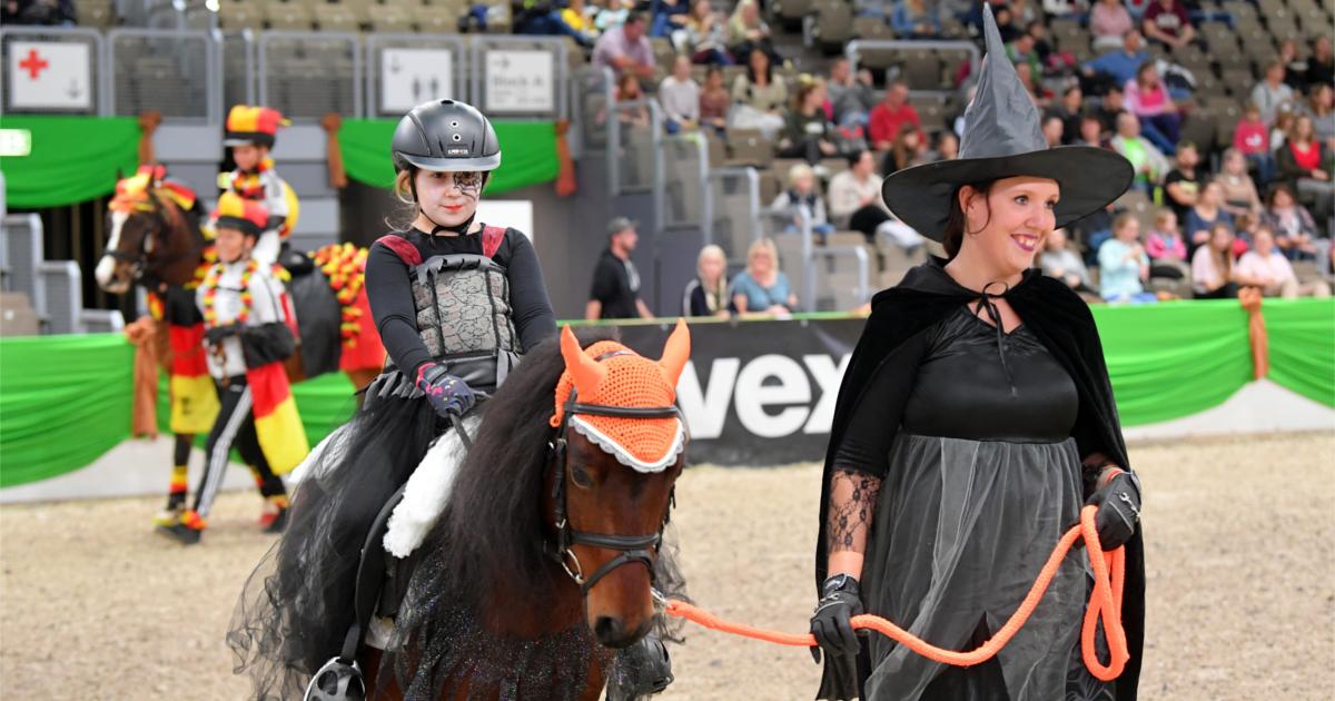 Faszination Pferd Nürnberg 2019 Connemara Gestüt - Fotoagentur Dill - Rainer Dill (I)