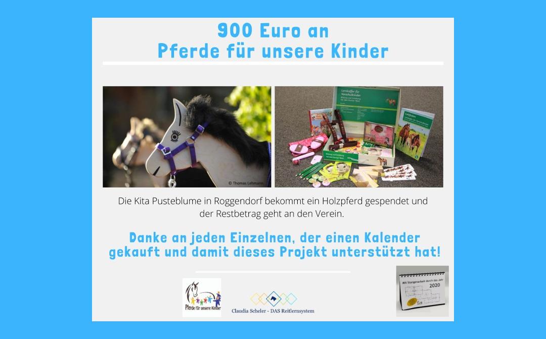 Kalender-Spendenaktion – Ein voller Erfolg!
