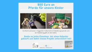 Kalenderaktion Claudia Scheler 2019 - Pferde für unsere Kinder e.V. (VI)