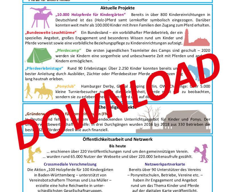 Zahlen Daten Fakten 2020/01 – Pferde für unsere Kinder e.V.