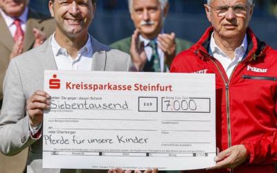 Deutsches Springreiter-Team spendet 7000 Euro