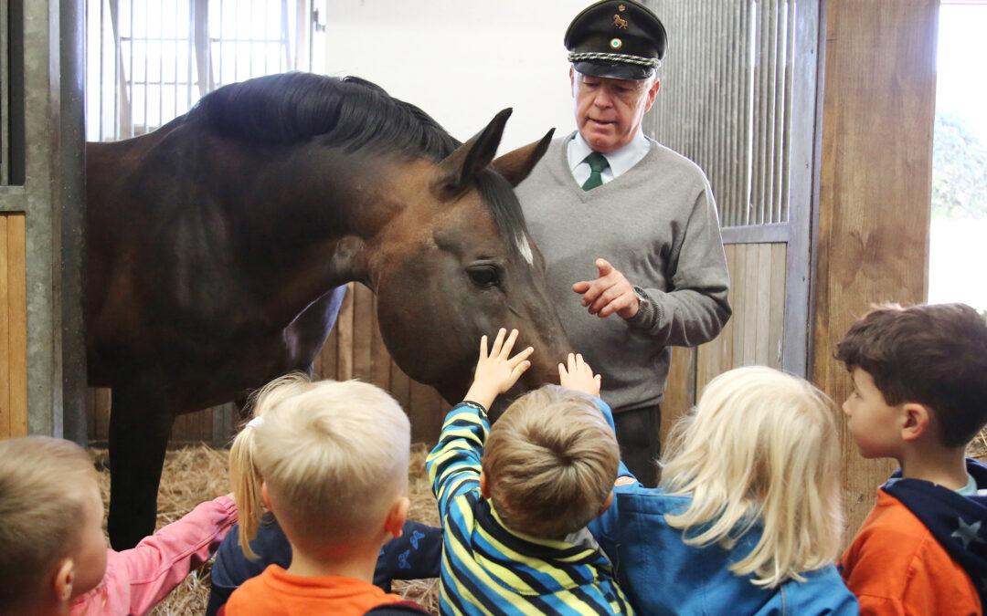 Sächsischer Kindertag im Landgestüt Moritzburg
